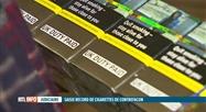 126 millions de cigarettes contrefaites saisies à Anvers