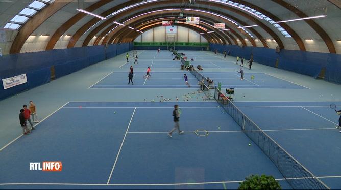 Situation difficile pour les club de tennis de Liège et du Hainaut