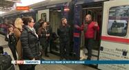 Les trains couchettes sont de retour en Belgique