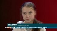 Donald Trump et Greta Thunberg lancent le forum de Davos