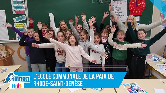 Contact Kids à l'Ecole De La Paix de Rhode-Saint-Genèse