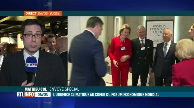 La Belgique bien représentée au forum économique de Davos