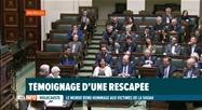 Cérémonie d'hommage aux victimes de la Shoah au parlement
