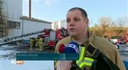 Incendie sur le site de l'entreprise Corman à Goé, près de Verviers