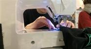Schaerbeek : un atelier couture se prépare pour le festival des lumières