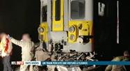 Brye : un train percute violemment un véhicule et fait deux morts