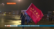 Coronavirus chinois: le cordon sanitaire s'étend en Chine