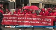 Mobilisation de la FGTB lors d'une journée d'action nationale à Bruxelles