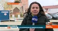 Tempête Ciara: intervention de la Protection civile à Bassily