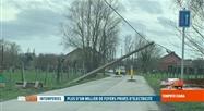 Tempête Ciara: les rafales ont provoqué des coupures d'électricité