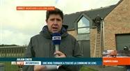 Mini-tornade à Montignies-lez-Lens, le point avec Julien Crête