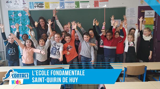 Contact Kids à l'école Saint Quirin à Huy