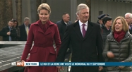 New York: le Roi et la Reine se recueillent au World Trade Center