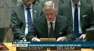 Le roi Philippe a prononcé un discours au Conseil de sécurité de l'ONU