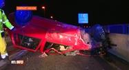 Grave accident de la route cette nuit sur le R3 de Charleroi