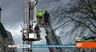 Tempête Dennis: 1400 interventions des pompiers wallons hier soir