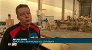 Un jeu de fer construit par des stagiaires en réinsertion à Tournai: