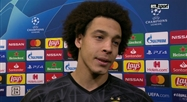 Axel Witsel sur l'ouragan Erling Haaland:
