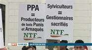 Manifestation des exploitants forestiers à Namur