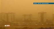 Une tempête de sable s'abat sur les îles Canaries