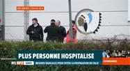 2 Belges encore à l'hôpital de Neder-over-Heembeek sont sortis de quarantaine