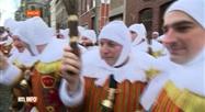 Le carnaval de Binche se clôture ce mardi après-midi
