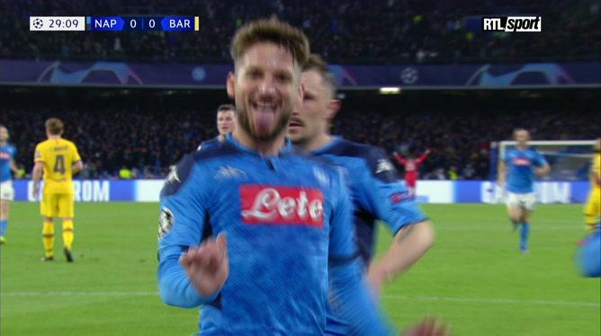 Résumé Naples-Barça