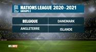 Tirage au sort des groupes de la Ligue des Nations 2020-2021