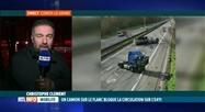 Accident à Corroy-le-Grand, la circulation à l'arrêt vers Bruxelles