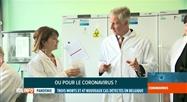 Coronavirus: le Roi s'est rendu à Sciensano