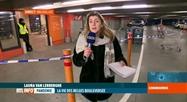 Covid-19: la situation ce soir devant un supermarché bruxellois
