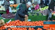 Les marchés en plein air restent également ouverts