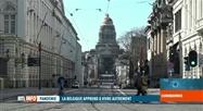 Bruxelles ville morte suite aux mesures anti-coronavirus