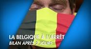 La Belgique à l'arrêt: bilan après 2 jours