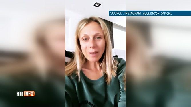 Le fils de Julie Taton touché par le coronavirus: elle donne des nouvelles
