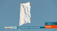 Covid-19: un drapeau blanc flotte au sommet du palais royal de Bruxelles