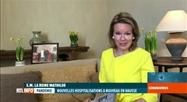 Coronavirus: la reine Mathilde encore les jeunes à la lecture