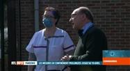 Coronavirus: les pompiers de Charleroi désinfectent leur matériel