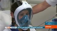 A Erasme, des masques de plongée servent de respirateurs artificiels