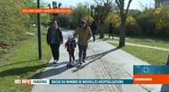 Coronavirus en Belgique: début de vacances de Pâques particulières