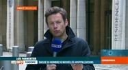 Coronavirus en Belgique: analyse du bilan du jour au centre de crise