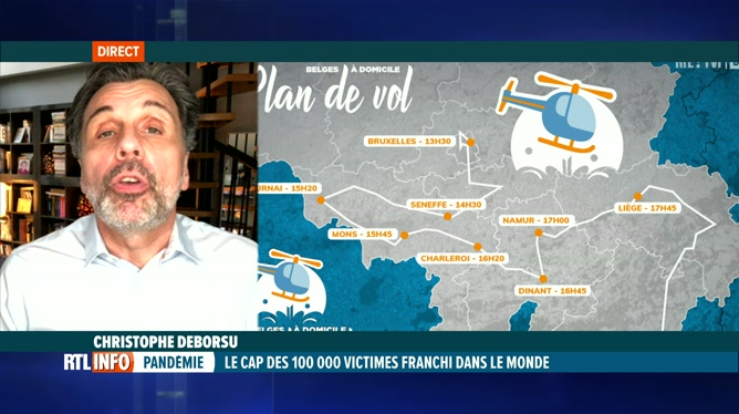 Grande opération de solidarité ce lundi sur RTL-TVI