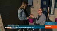 Les Belges à domicile vus du ciel: une demande en mariage a eu lieu