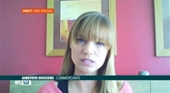 L'invitée du jour: la commerçante Geneviève Goossens, de Grez-Doiceau