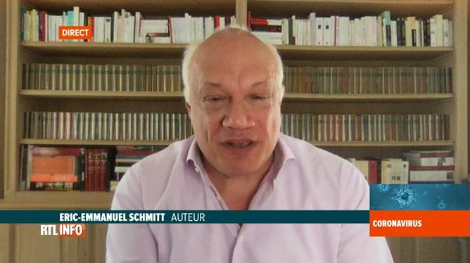 Coronavirus en Belgique: Eric-Emmanuel Schmitt nous parle de son confinement