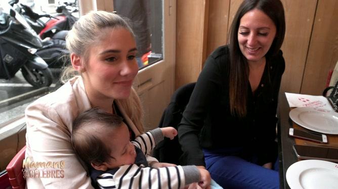 Mamans et célèbres: Jesta et Benoit présentent leur fils,