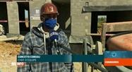 Coronavirus en Belgique: le secteur de la construction redémarre lentement