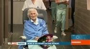 Coronavirus en Belgique: Julia (100 ans) est sortie guérie de l'hôpital à Seraing