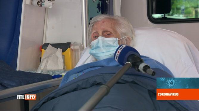 Coronavirus en Belgique: Julia a quitté l'hôpital guérie le jour de ses 100 ans