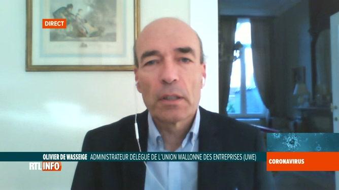 Coronavirus en Belgique: réaction d'Olivier de Wasseige, de l'UWE